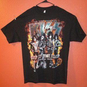 Kiss End of the Road World Tour Alstyle Black XL